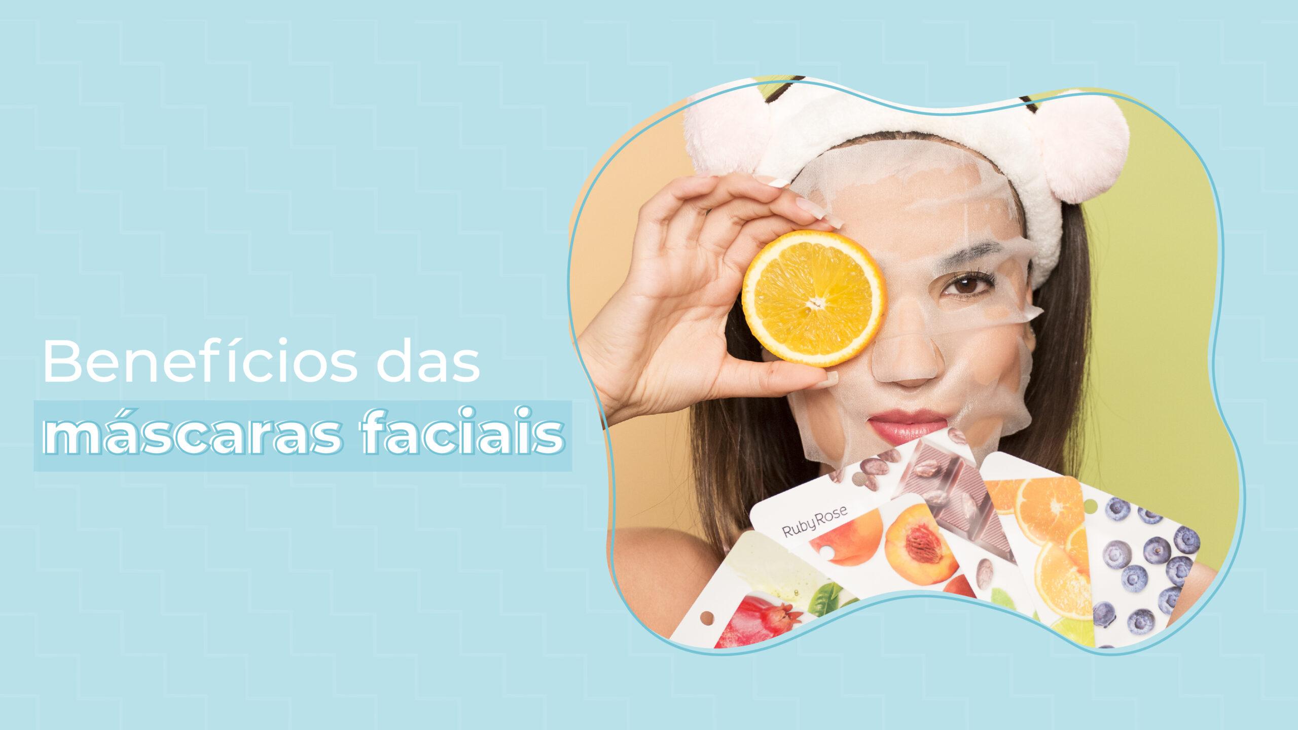 Máscara facial: saiba quais os benefícios oferecem para pele