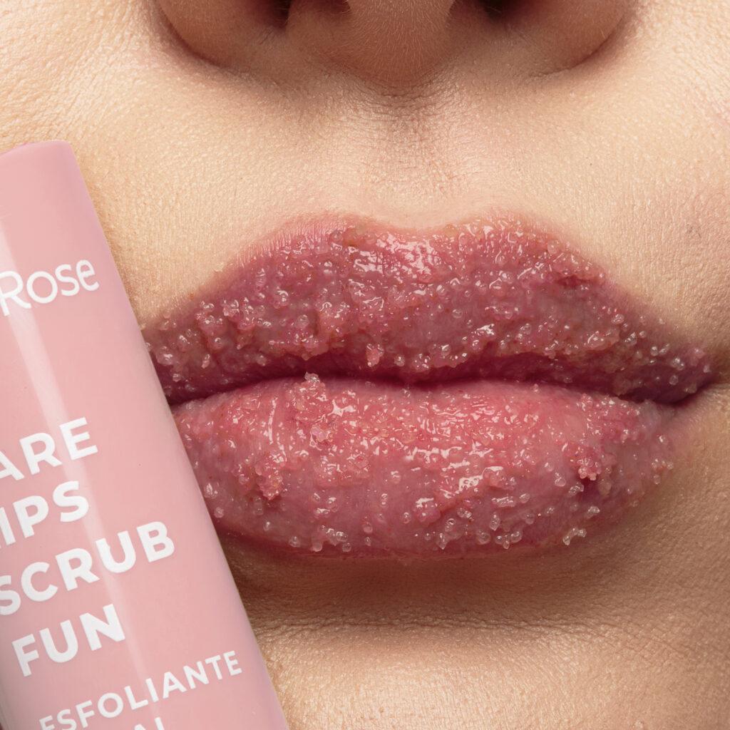 Esfoliante labial ruby rose